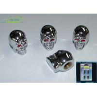 Wholesale Skull Head Chrome Plastic Car Exterior Accessories tire pressure valve caps from china suppliers