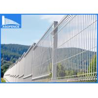 Wholesale Hot Dip Galvanized 3D Fence Panel Folding For Private Grounds , Highway from china suppliers