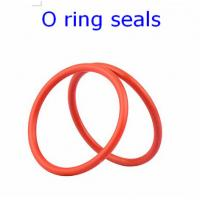 Wholesale ACM 70 Rubber O Ring Seals For Connector , Colored Orings Wear Resistant from china suppliers