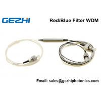 Quality C band DWDM Red/Blue Filter WDM device 3 Port  Thin Film Filter FWDM for sale