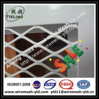 Wholesale 1.5mm thick expanded metal sheet,expanded wire mesh with frame for window protection from china suppliers