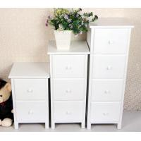 Wholesale White Wooden Drawer Bedroom Corner Cabinet Living Room Furniture from china suppliers