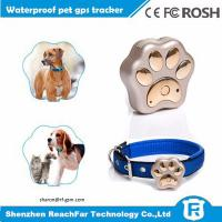 Buy cheap worlds smallest pet gps tracker with sim card small collar for dog from wholesalers