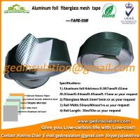 Wholesale Aluminum foil fiberglass mesh tape pipeline insulation foil tape from china suppliers