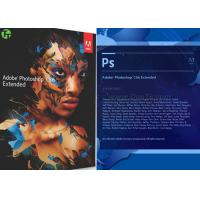 Wholesale Adobe Graphic Art Design Software Photoshop CS 6 / CC / CS 5 Extended Version from china suppliers