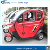 Wholesale 3 seats lead acid battery fashion citycoco electric tricycle scooter ebicycle from china suppliers