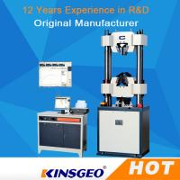 Quality Computer Rubber Universal Strength Testing Machine 1000KN With Servo Motor / PC Display for sale