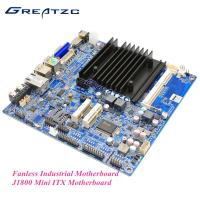 Wholesale Intel J1800 Fanless Industrial Motherboard , Fanless ITX Motherboard VGA / HDMI / LVDS from china suppliers