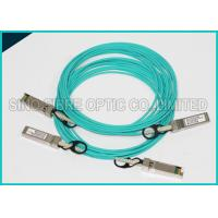 Wholesale 3m SFP+ 10GB Fiber Optic Active Direct Attach Aqua Cable OM3 Multimode from china suppliers