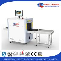Wholesale Small Baggage Screening Equipment , AT5030C airport security X - ray Scanner from china suppliers