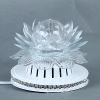 Wholesale Beautiful Disco Stage Lights Little Sun Lotus LED Light , 9W Sunflower LED Rotating Lamp from china suppliers
