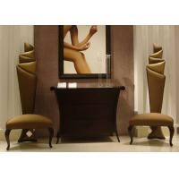 Wholesale Accent  Modern Lobby Furniture Wooden Console Table And Chairs For Entrance from china suppliers