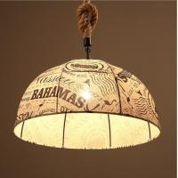 Wholesale Industrial vintage umbrella shaped pendant light black/white hanging wire chandelier from china suppliers