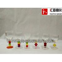 Buy cheap Painting stem shot glass, liquor glass from wholesalers