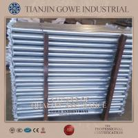 Wholesale Gavalnised ring lock system scaffolding Ledger / Metal Plank For bridges from china suppliers