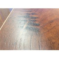Wholesale Hand scraped  Maple Wood Laminate Flooring  Glueless with Click Staining Wood Floors from china suppliers
