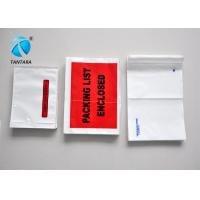 Wholesale Recyclable Mailing packing list enclosed pouches tear resistance from china suppliers