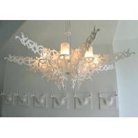 Wholesale Rubber Wood White Mansion Chandeliers Splendor Lighting for Luxury Villas / Hotels from china suppliers
