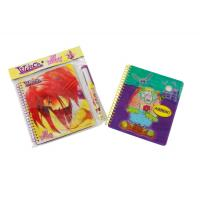 Quality Customized iron or plastic cover A4, A4+, A5, A5+, A6 Spiral Bound Notepad for sale