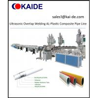 China Ultrasonic Overlap Welding AL-Plastic Composite Pipe Line on sale