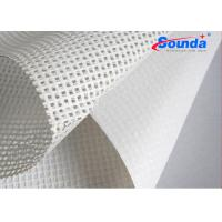Wholesale 260g/sqm pvc mesh banner for digital printing materials Polyester fabric for lager formate from china suppliers