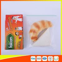 Wholesale FDA Approved Clear Small Plastic Zip Lock Bags For Sandwich Moisture Proof from china suppliers