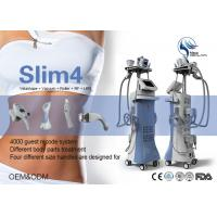 Wholesale 5 In 1 Velashape Body Sculpting Machine Vacuum + Mechanical Roller + RF + LED + IR from china suppliers