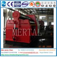 Buy cheap MCLW12CNC-10*2000 Hydraulic 4 Roller Plate Rolling/bending Machine with CE from wholesalers
