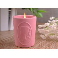 Wholesale Character Candle Cup Holders Ceramic Candle Containers With Candle Light from china suppliers