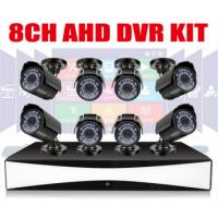 Wholesale Full HD 8CH CCTV DVR Kit 1MP Waterprof Outdoor Bullet Cameras from china suppliers