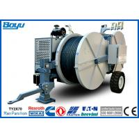 Buy cheap 2 x 70kN 14 Ton Hydraulic Tensioner With Two Bundle Conductor Tension Machine from wholesalers