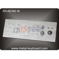 Wholesale Mine Machine Industrial Kiosk Metallic Keyboard for with Integrated Trackball from china suppliers