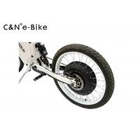 Wholesale high speed 72V8000W white 120km / h enduro electric bike with motorcycle seat from china suppliers