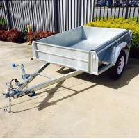Wholesale 7X4 Hot Dipped  Galvanised Trailer750KG from china suppliers