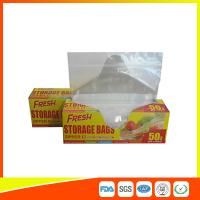 Wholesale Food Preservation Freezer Zip Lock Bags Reusable For Home / Supermarket Use from china suppliers