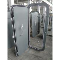 Quality Marine Single Handle Quick Acting Weathertight Steel Access Hatch Door for sale