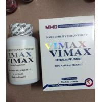 Buy cheap Vimax Sex Enhancer Penis Enlargement Capsules Effective Natural Male Pills 60 Tablets from wholesalers