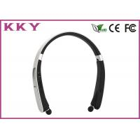 Wholesale Neckband Bluetooth Headphone with Sleek Design and Comfortable Fit for Smartphone from china suppliers