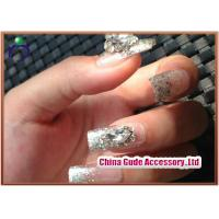 Buy cheap ODM Elegant 3D Diamond Fake Nails , ABS plastic from wholesalers