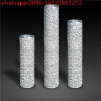 "Wholesale 18 Gauge, 1-1/2"" Hex Mesh /Galvanized After Weaving/ hex  Wire Fence mesh/13mm (1/2'') hex aperture hexagonal wire mesh from china suppliers"