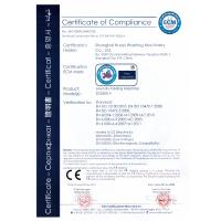Shanghai Huayi Washing Machinery Co., Ltd. Certifications