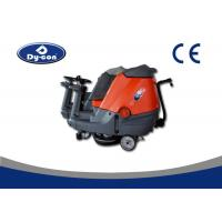 Wholesale Custom Size Ride On Floor Scrubbers Dryer Machine , Ride On Sweeper Scrubber from china suppliers