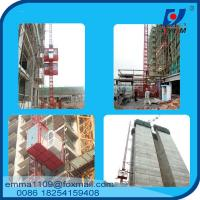 Wholesale 4tons VFD / FC control Rack and Pinion Building Hoist With Mast Sections from china suppliers