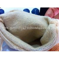 Wholesale Washable Cotton Jersey Nitrile Work Gloves Open Back With Rubberized Cuff from china suppliers