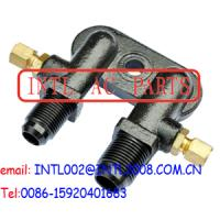 Wholesale TM A/C Compressor Fitting Adapter CONNECTOR A/C COMPRESSOR HEAD FITTING a/c compressor Vertical Manifold fitting from china suppliers