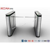 Wholesale Shopping Mall Drop Arm Turnstile Gate 304 Stainless Steel 2 RFID Readers Windows from china suppliers