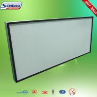 Quality High Efficiency Polypropylene Media Filter HVAC F6 F7 F8 Pleated HVAC Filter Replacement for sale