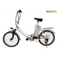 Wholesale Silver Folding Electric Bicycle Lightweight Adjustable Two Wheel Electric Bike from china suppliers