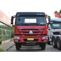 Wholesale 8X4 LHD Euro 2 336HP Red Commercial Cargo Box Truck 30-60 Tons from china suppliers
