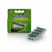 Wholesale 4PCS/Pack razor blades Men Manual Shaving Razor blades with 6 Blades High quality blades sharpener blades from china suppliers